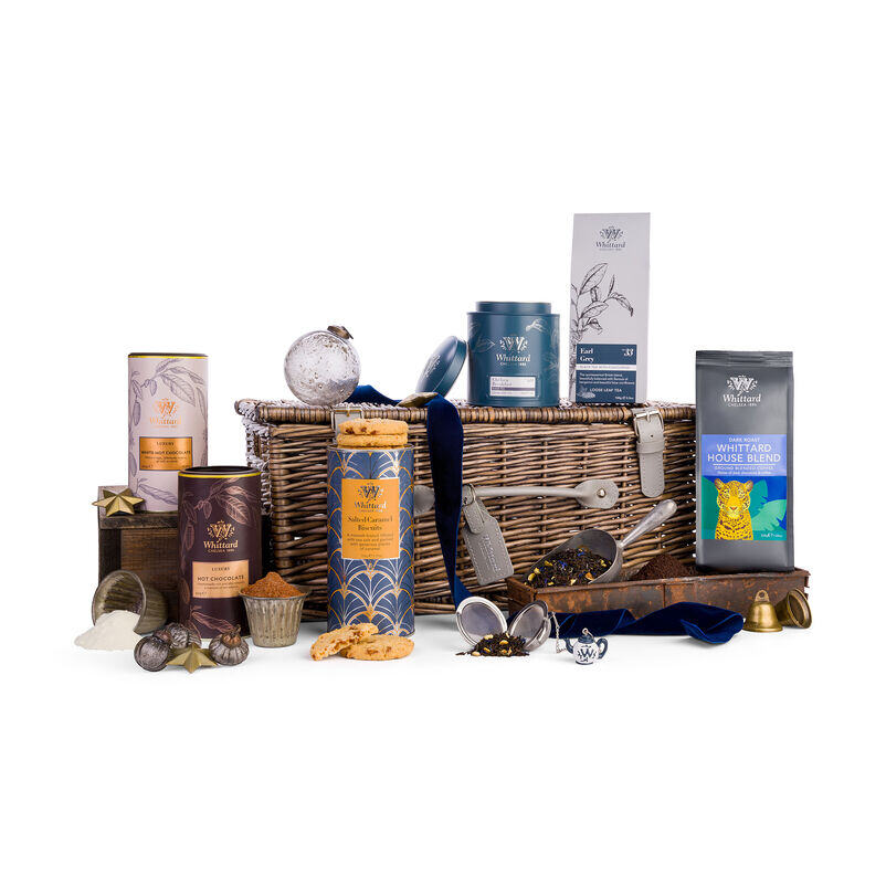 The Discovery Hamper in Christmas styling