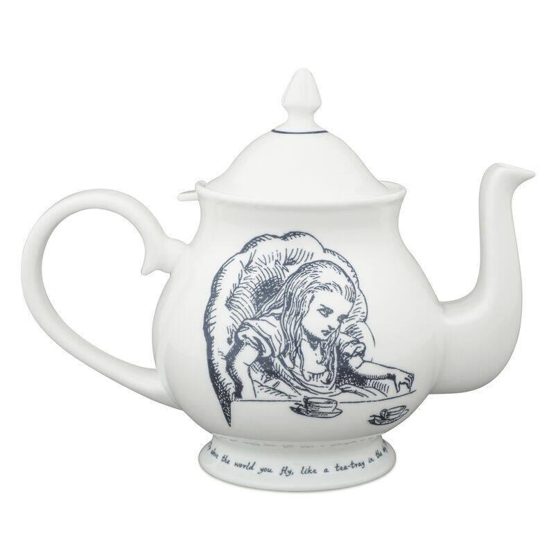 Alice in Wonderland Tea Party Teapot