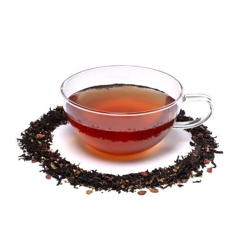 English Fruits Loose Tea in Teacup