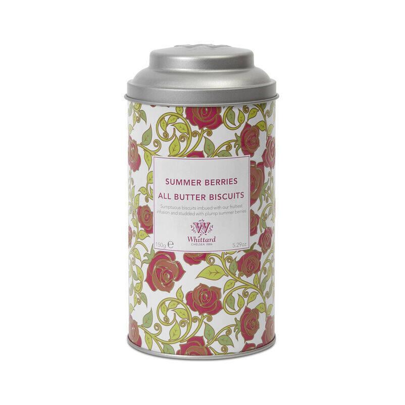 Summer Berries Biscuit Tin
