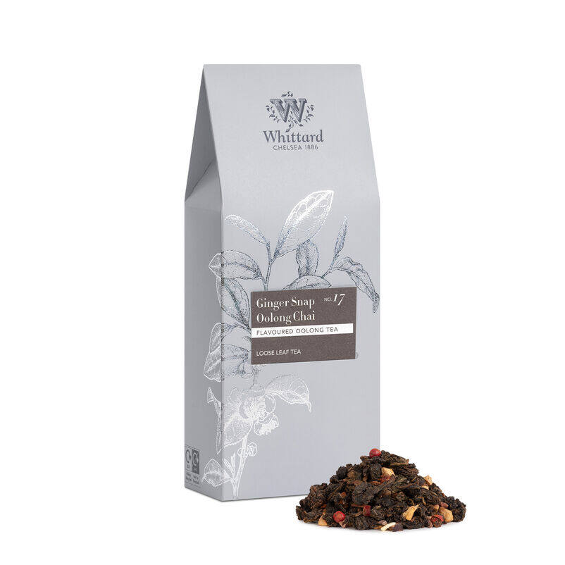 Ginger Snap Chai Loose Tea, winter chai.