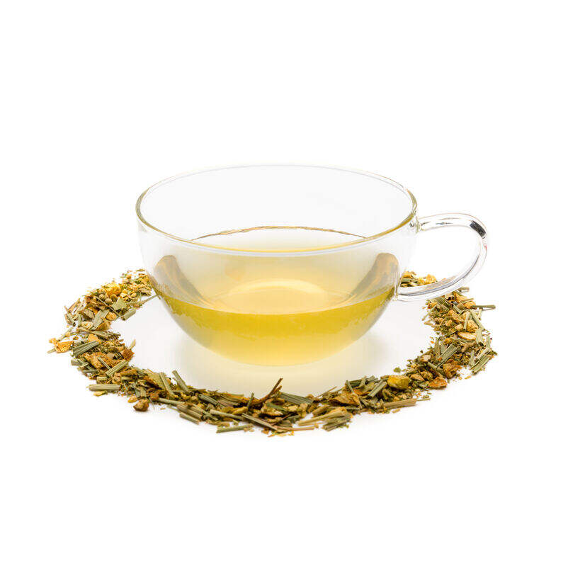 Lemon & Ginger Loose Infusion in Teacup