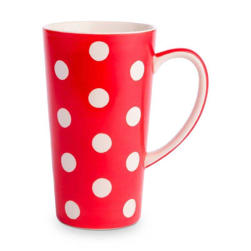 Florence Pillar Box Red Latte Mug