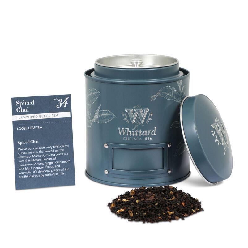 Spiced Chai Loose Tea Caddy
