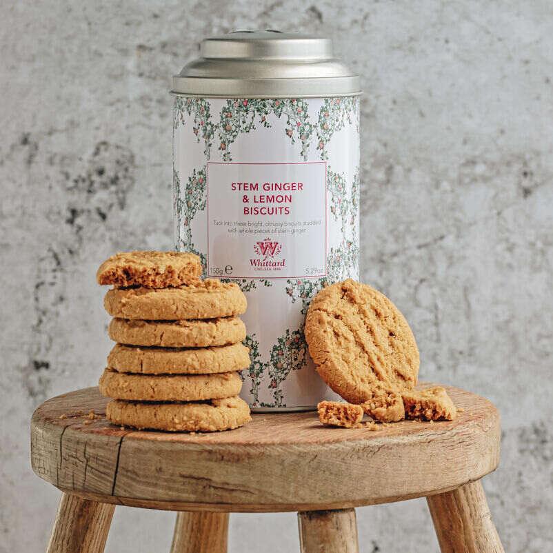 Tea Discoveries Stem Ginger & Lemon Biscuits