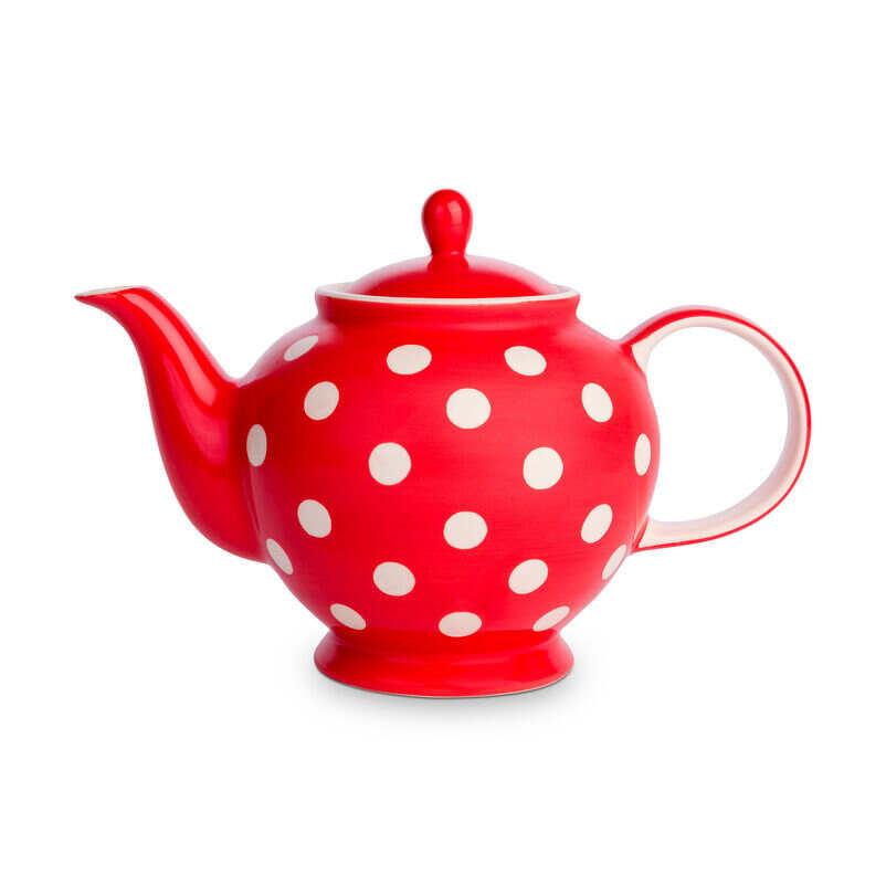 Florence Pillar Box Red Teapot