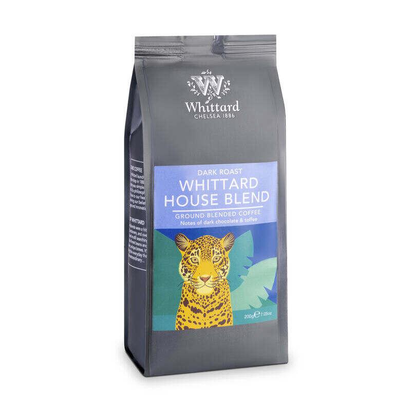Whittard House Blend Valve Pack Ground Coffee