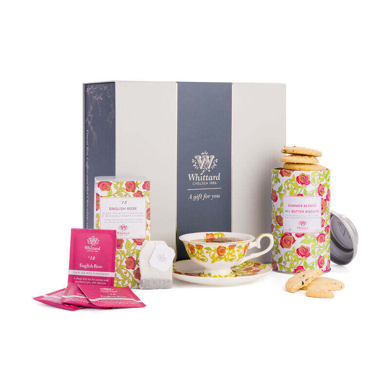 The Tea Discoveries English Rose Gift Set