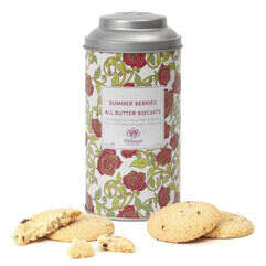 Summer Berries Biscuits and Tin