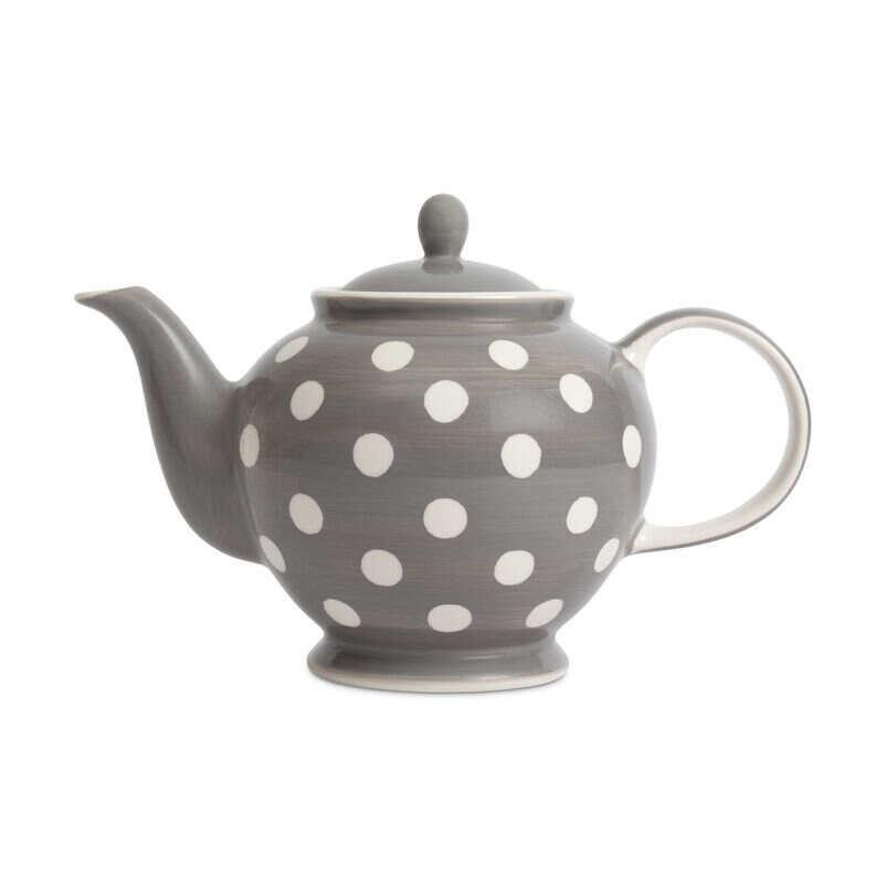 Grey Florence Teapot