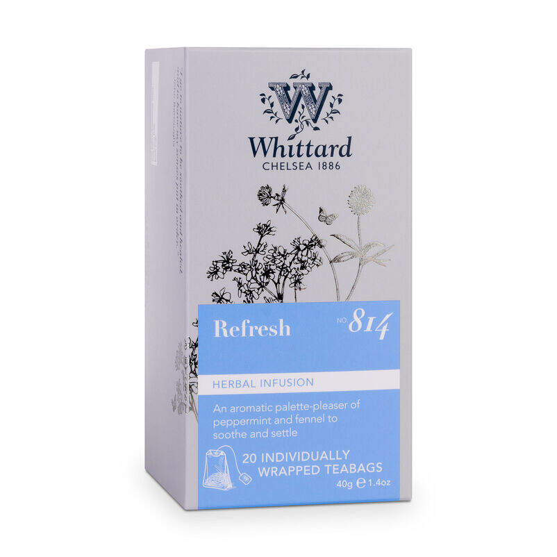 Box of Refresh Teabags