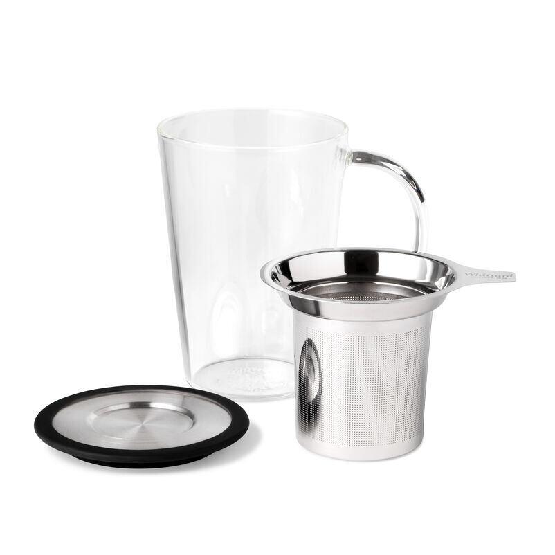 Glass Pao Infuser Mug