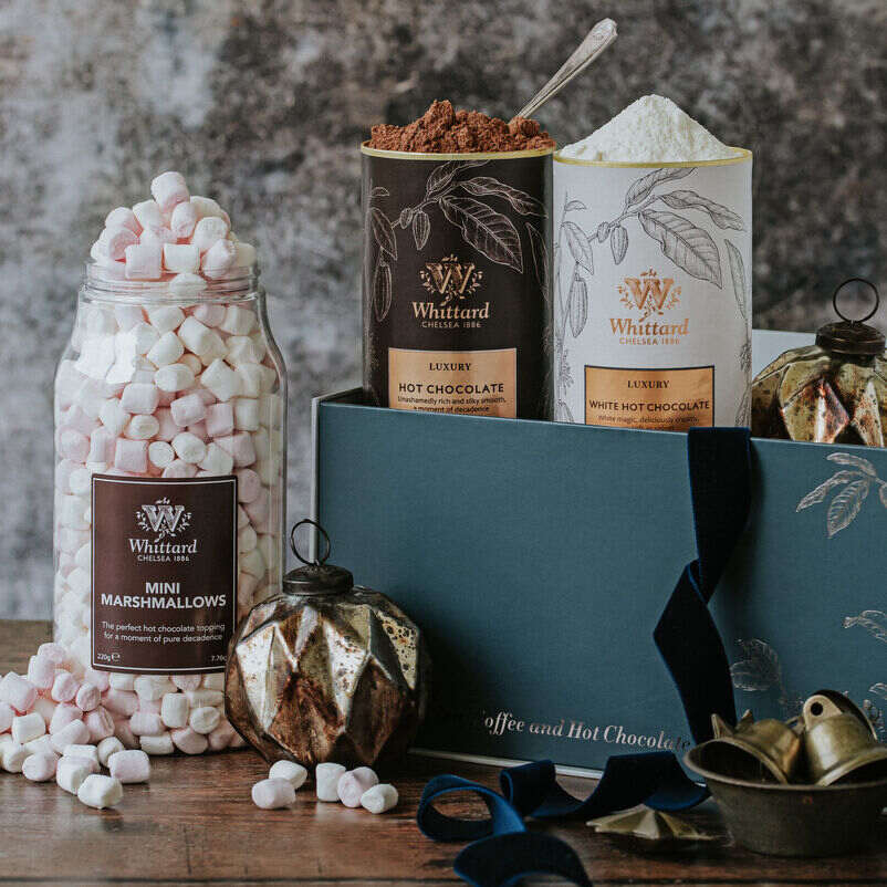 The Luxury Hot Chocolate Gift Box Lifestyle