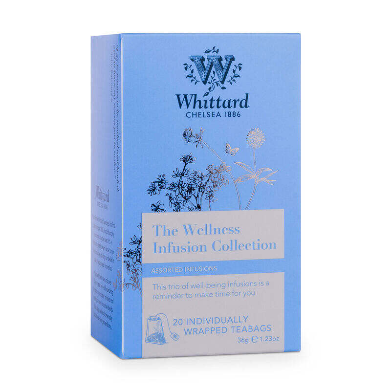 The Wellness Infusion Teabag Collection