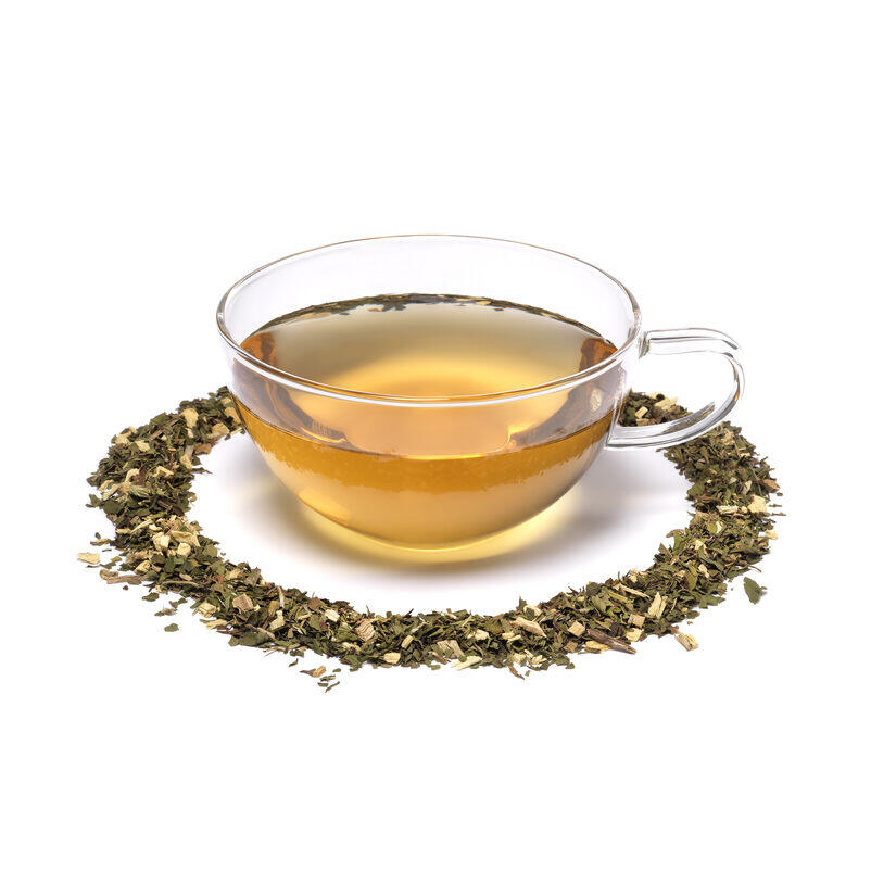 Peppermint & Liquorice Infusion in Teacup