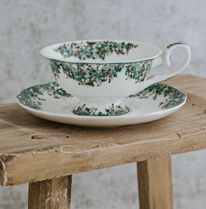 Chelsea Garden Tea Discoveries Tea Cup & Saucer