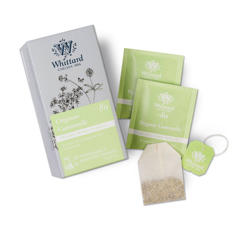 Organic Camomile Individually Wrapped Teabags
