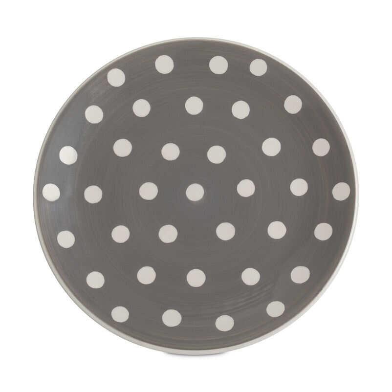 Grey Florence Dinner Plate