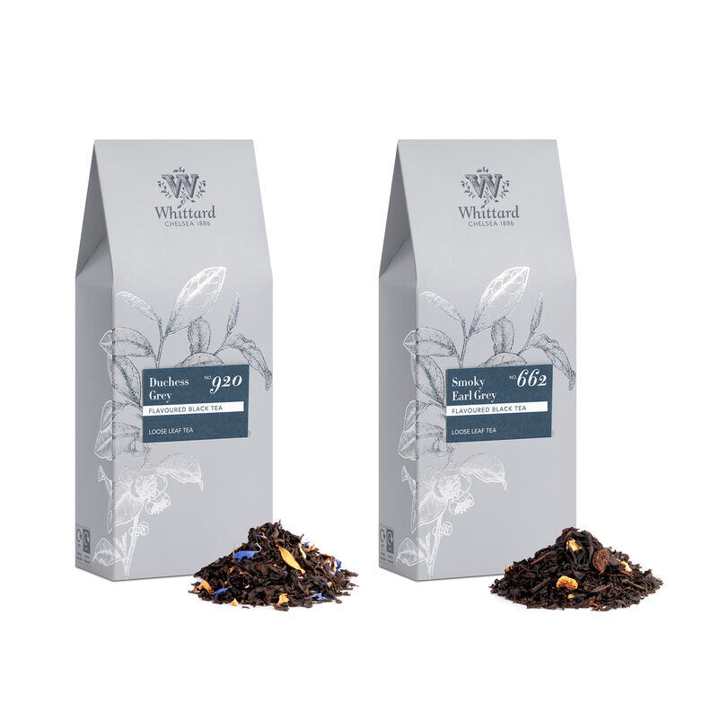 The Duchess Grey and Smoky Earl Grey Duo