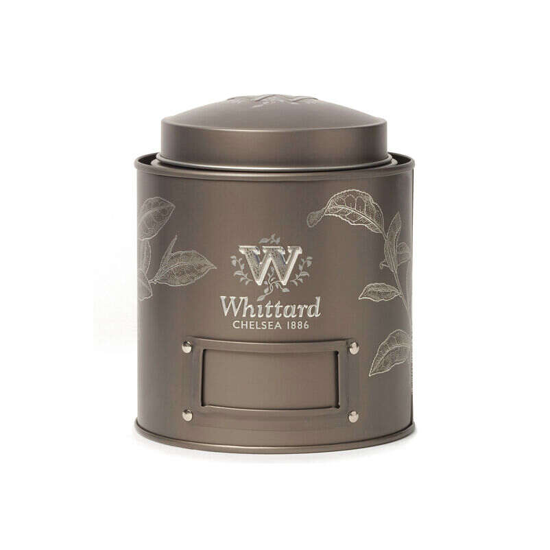Our Fill-Me-Up Bronze caddy is stackable and ready to fill with your favourite tea.