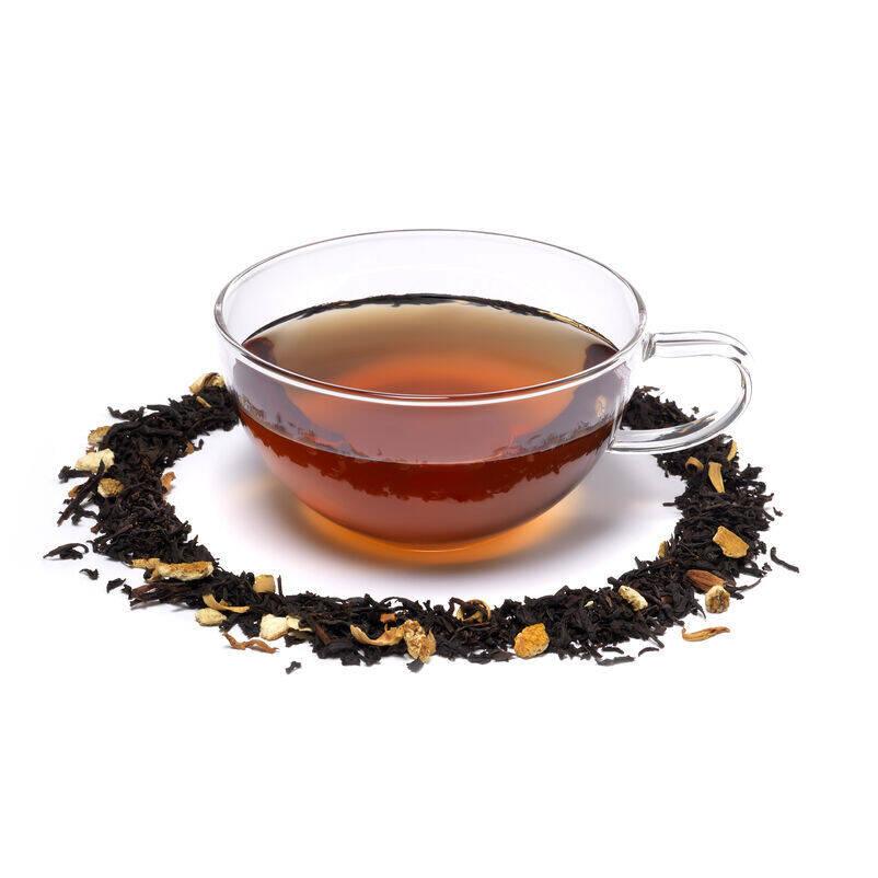 Orange Blossom Loose Tea and Teacup