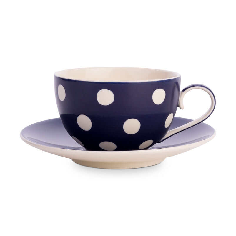 Florence Midnight Blue Cup & Saucer