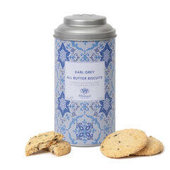 Earl Grey Biscuits and Tin