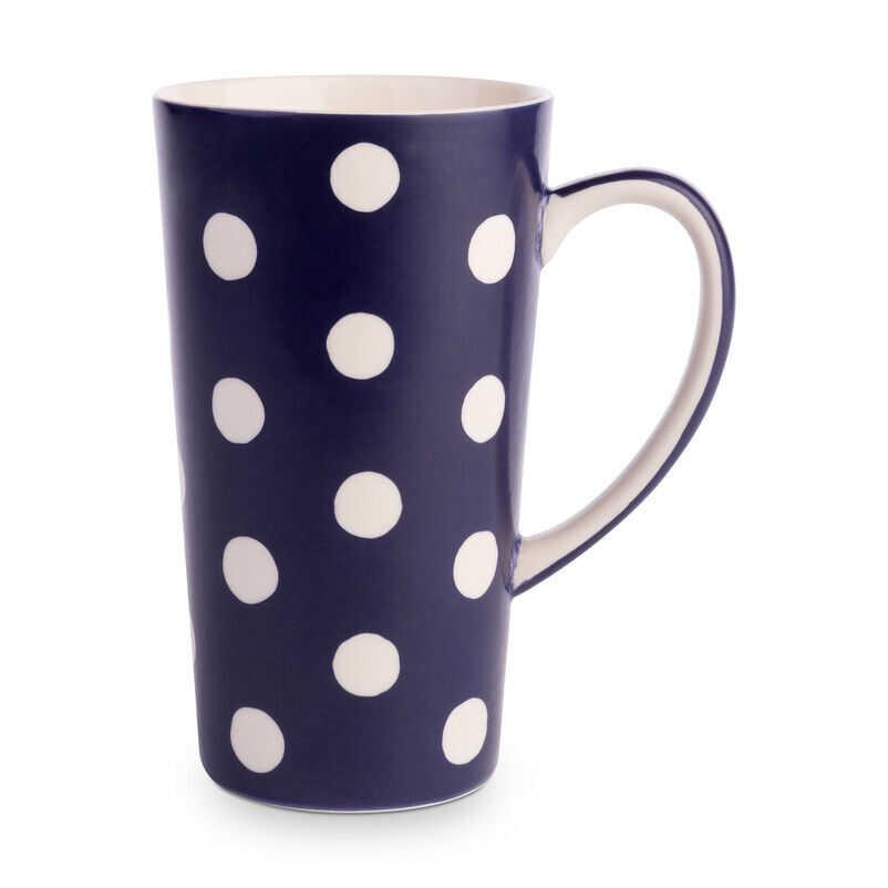 Florence Midnight Blue Latte Mug