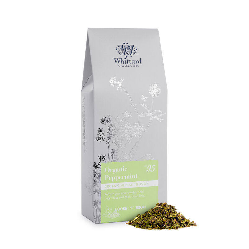 Organic Peppermint Loose Infusion Pouch