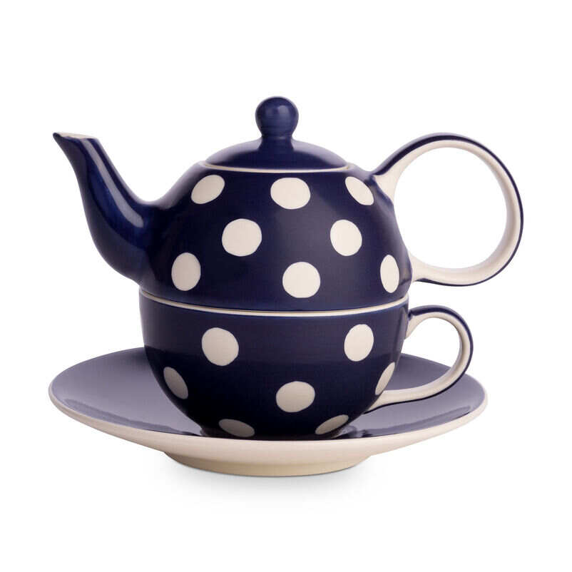 Florence Midnight Blue Tea-for-One