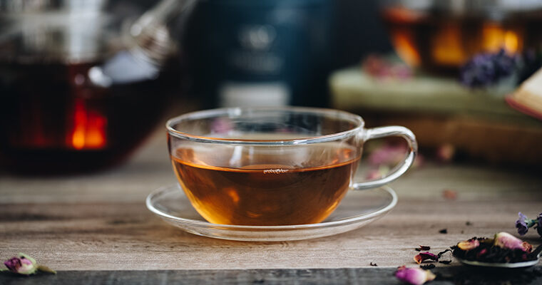 Assam TGFOP1 + Salted Caramel Chocolate