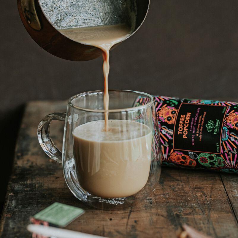 Toffee Popcorn Hot Chocolate
