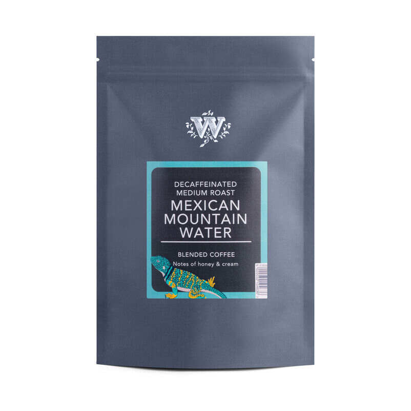Mexican Mountain Water Decaf Coffee Compostable Packet
