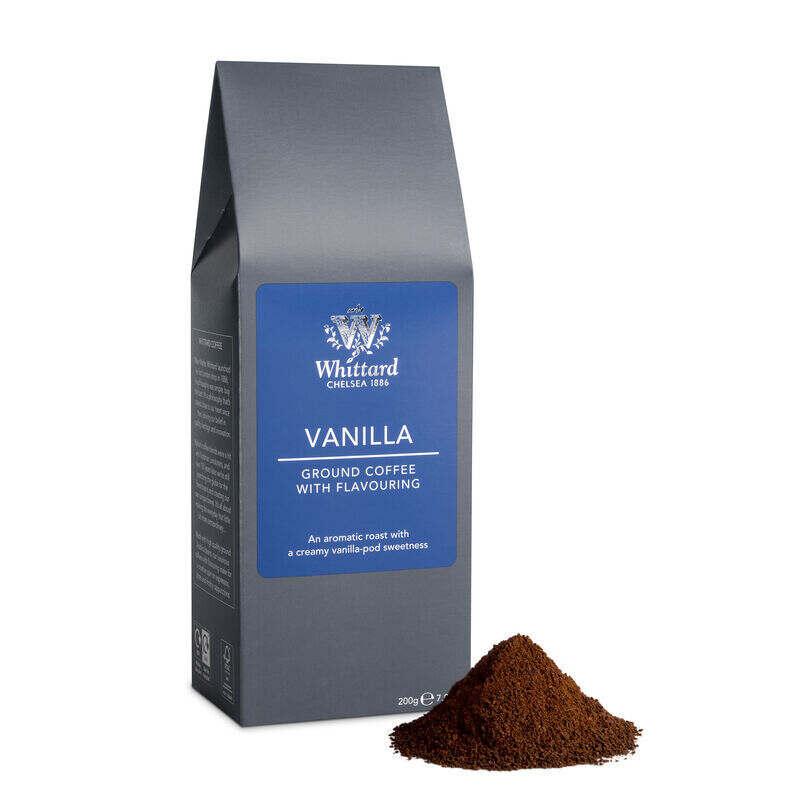 Vanilla flavoured Whittard Ground Coffee