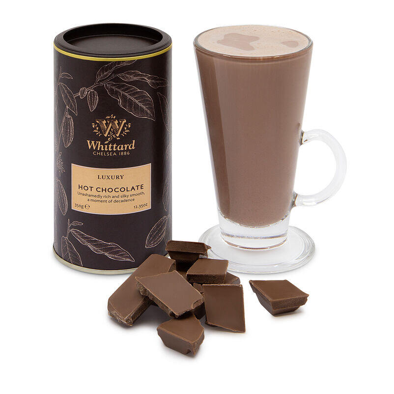 Luxury Hot Chocolate and SoHo Latte Glass
