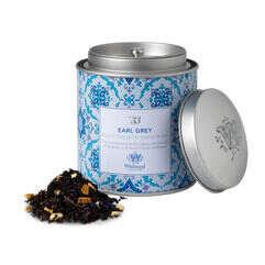 Image of Tea Discoveries Earl Grey Tea Caddy and tea