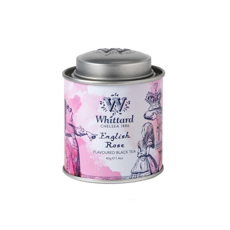 English Rose Alice in Wonderland Mini Caddy