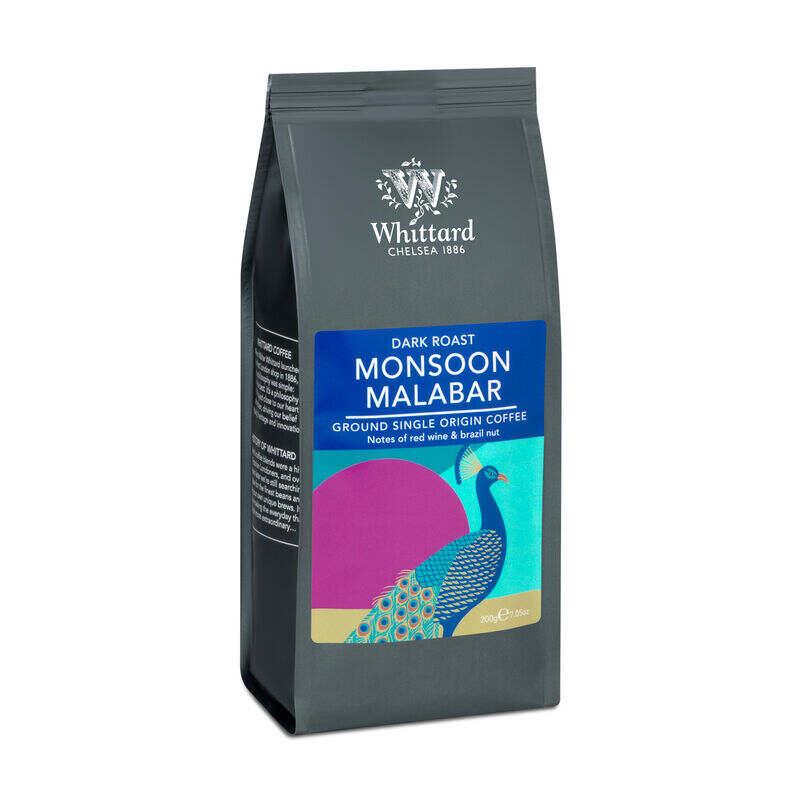 Monsoon Malabar, Whittard ground coffee