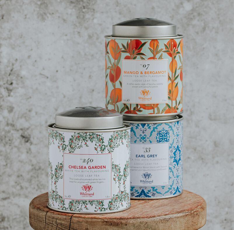 Stackable Tea Discoveries Tea Caddies