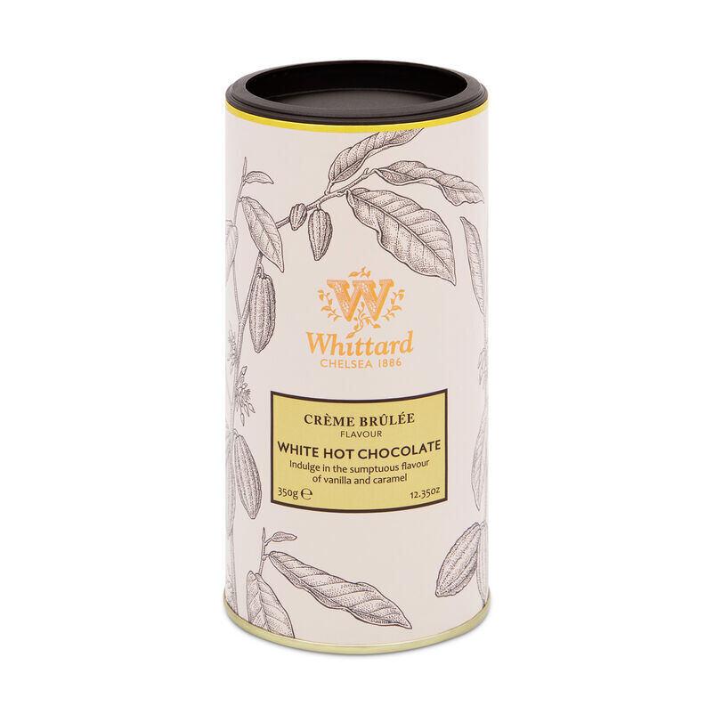 Crème Brûlée Flavour White Hot Chocolate