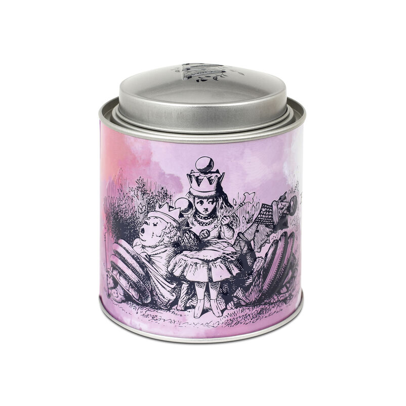 Piccadilly Alice Blend Tea Caddy back of tin