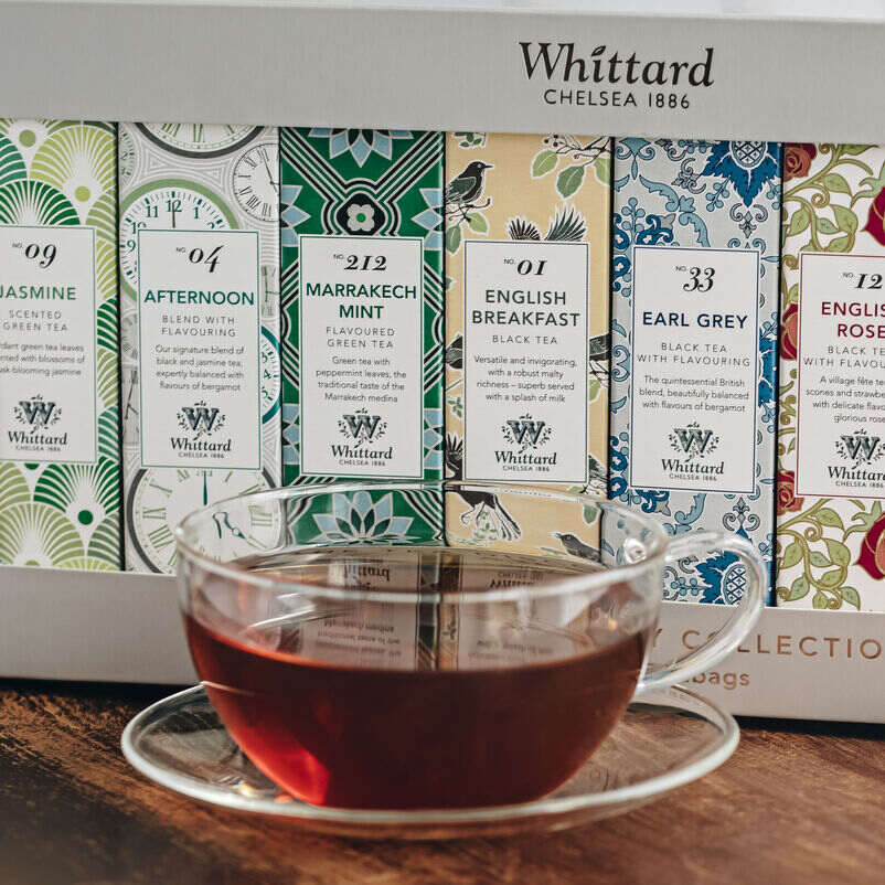 The Tea Discovery Collection with teacup
