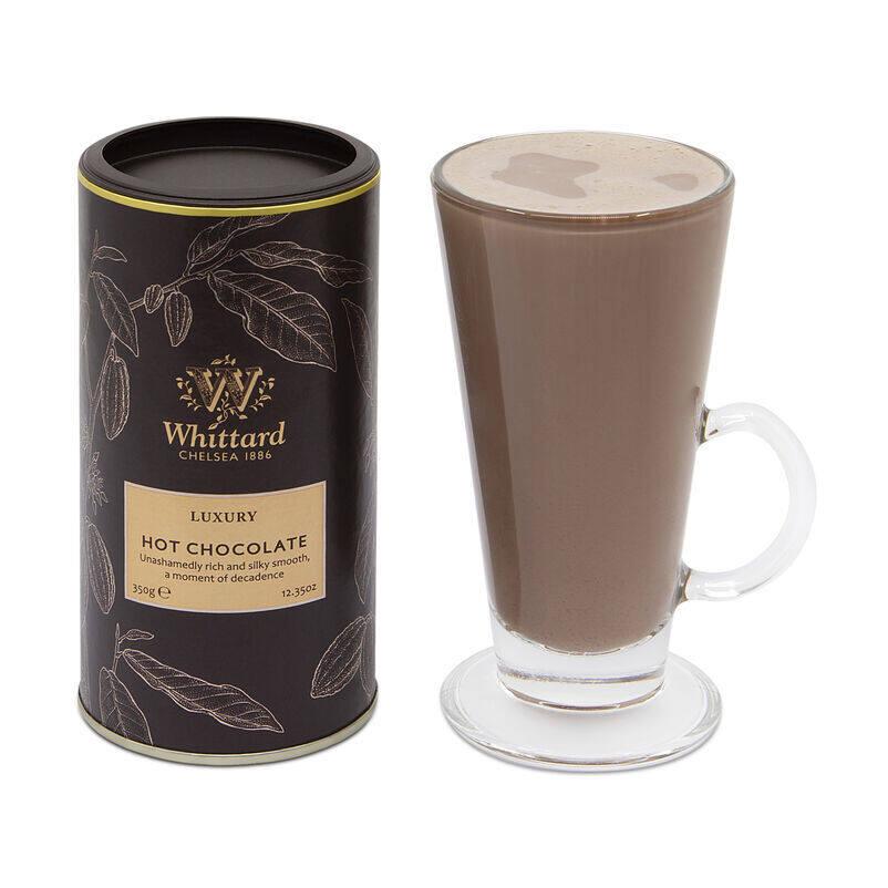 Luxury Hot Chocolate in SoHo Glass