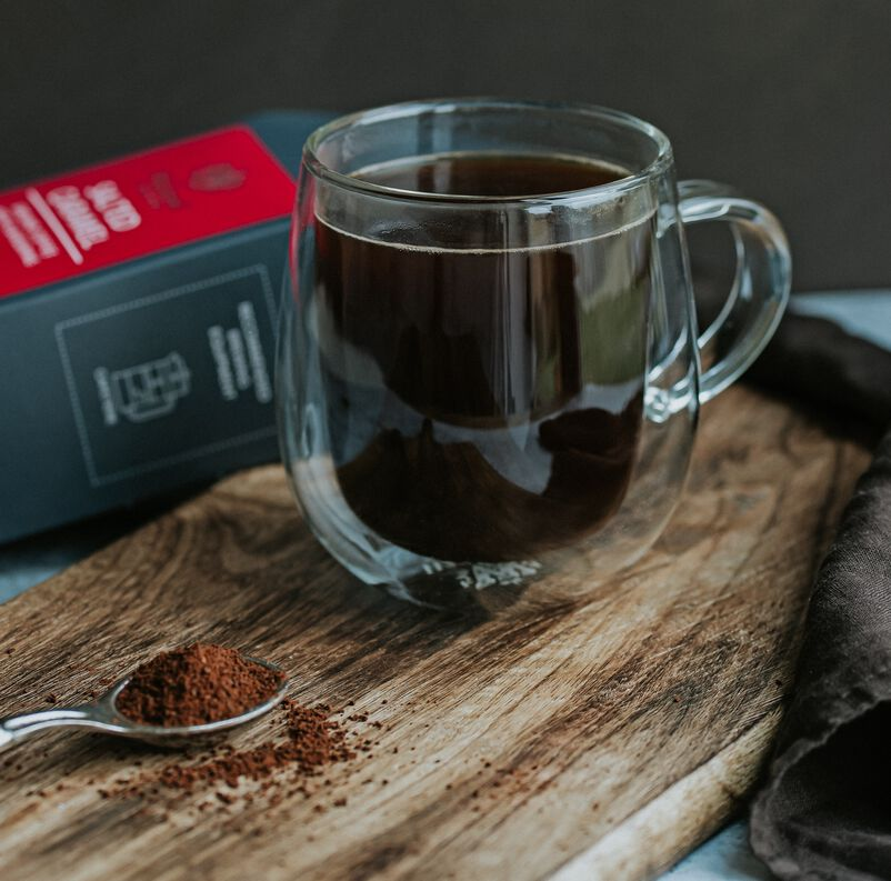 Salted Caramel Flavoured Coffee