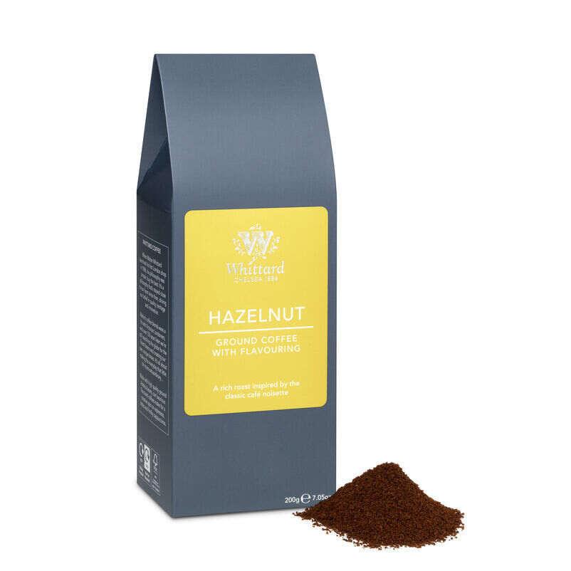 hazelnut coffee, flavoured coffee, coffee flavours, hazelnut flavour. ground coffee, latte, espresso. flavour