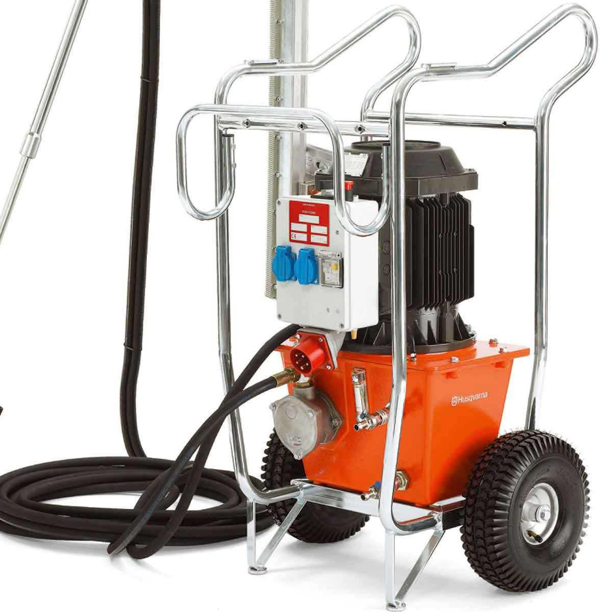 Husqvarna Electric Hydraulic Power Pack on Cart 965156406