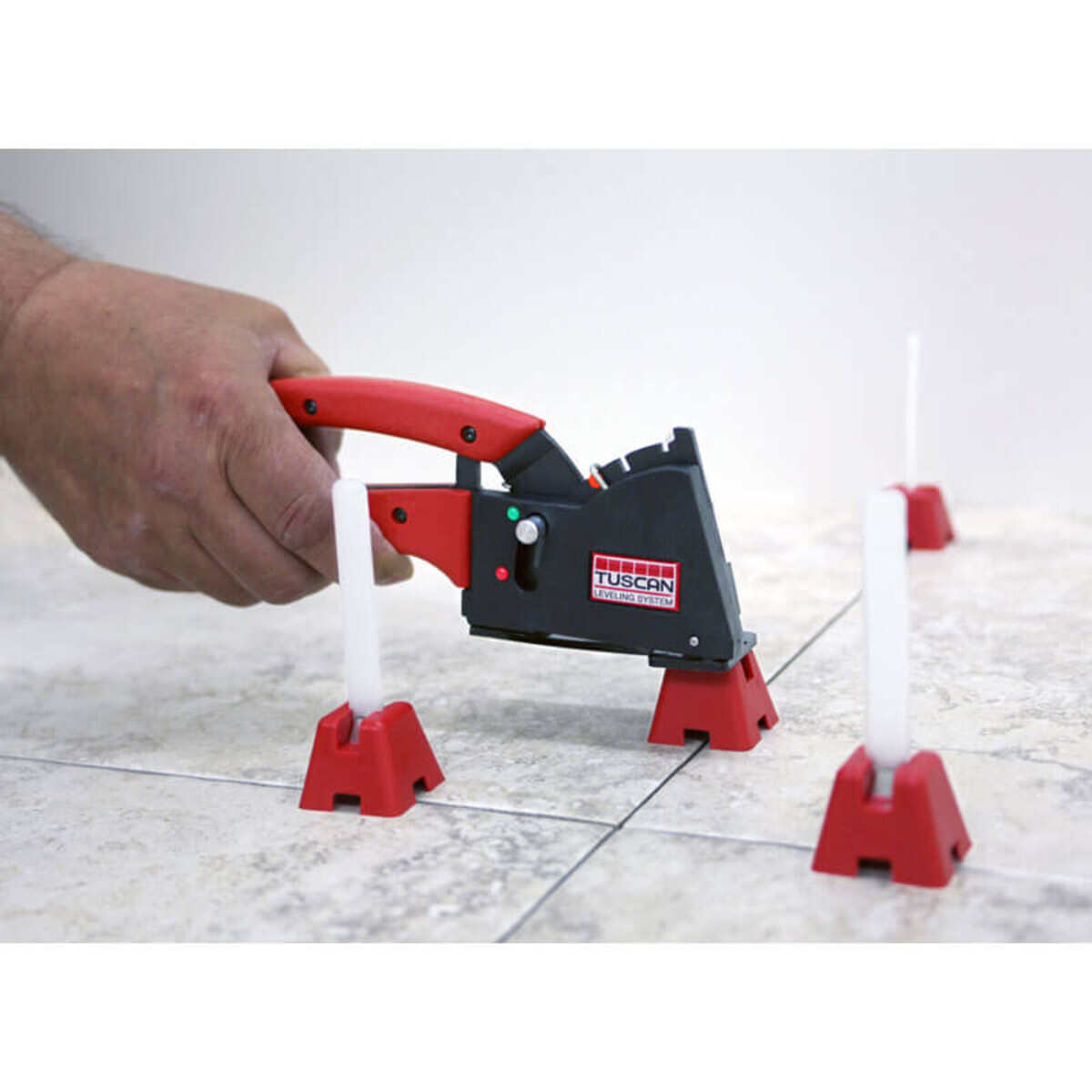 TLSERGGUNKIT pearl tuscan tile leveling system lippage free installation