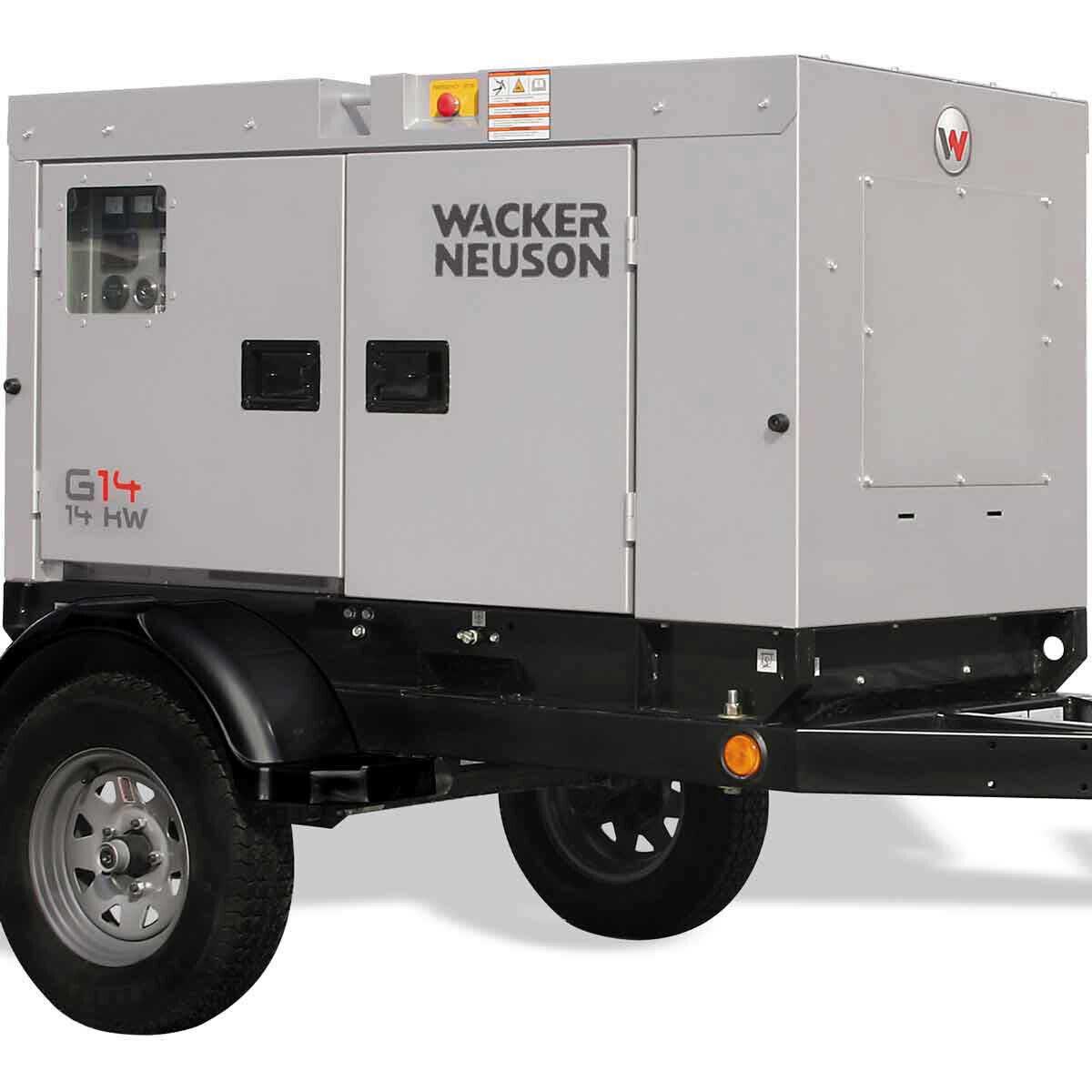Wacker Neuson G 14 Generator Wheel Kit