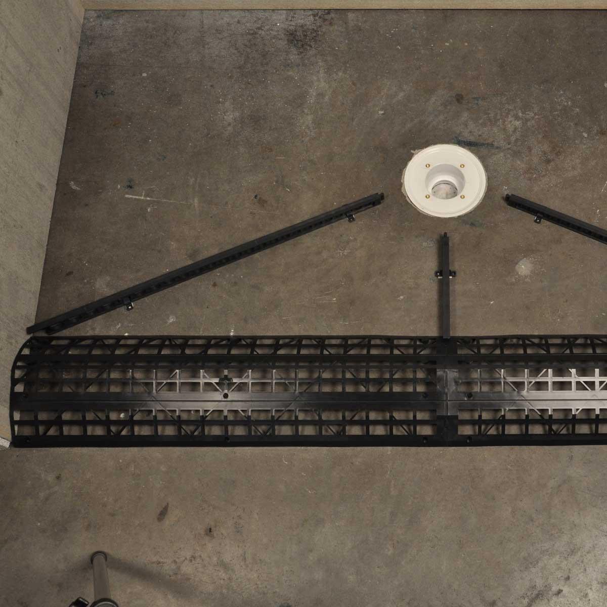 Handi-Kirb Shower Base Installatoin