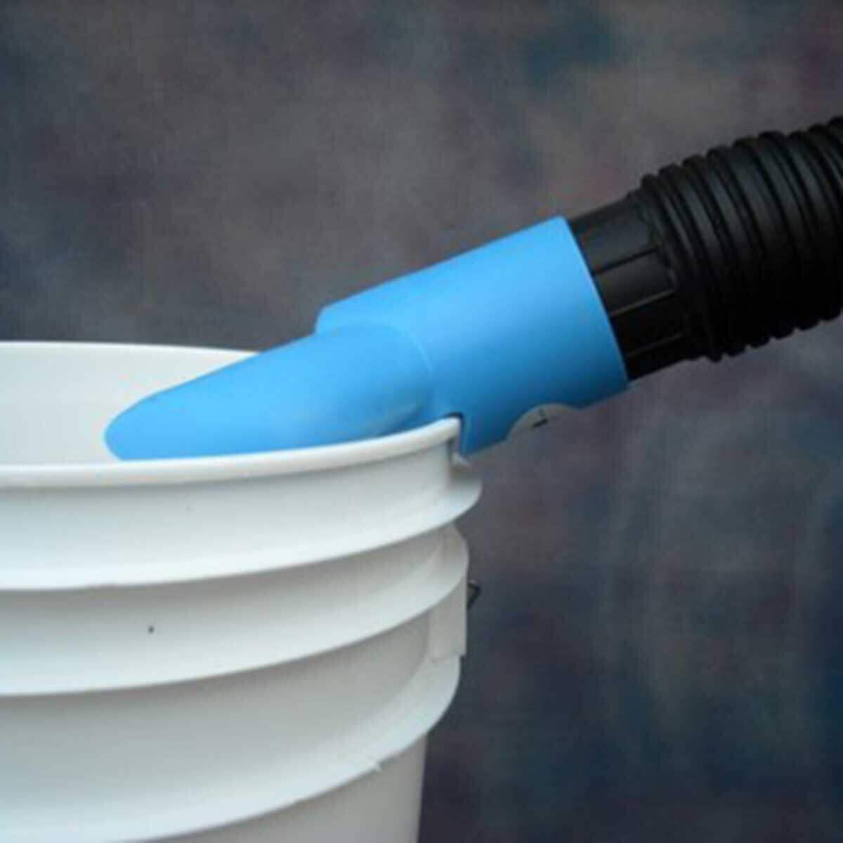 WaleTale Dust Control Vacuum Attachment, Use this vacuum hose attachment